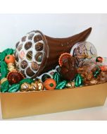 Cornucopia with Truffles in a Holiday Box