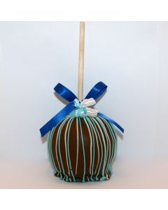 Colorful Chocolate Covered Caramel Apple