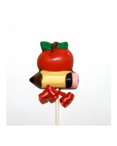 Apple and Pencil Lolly