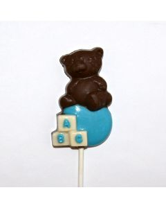 Bear on the Baby Block Lolly