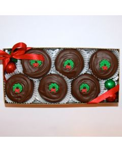 Wreath Oreos