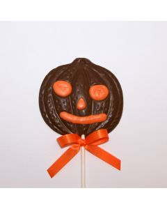 Large Pumpkin Face Lolly