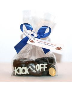 "Mitzvah ""Kick Off"" Sports Oreo Favor"