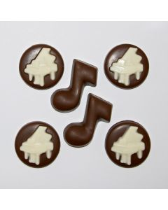 Chocolate Piano Coins