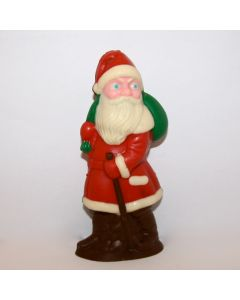 Large Old-fashioned Chocolate Santa