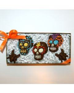Day of the Dead Skulls (3 pack)